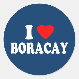 I Love Boracay Sticker