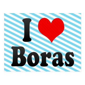 I Love Boras, Sweden. Jag Alskar Boras, Sweden Postcard