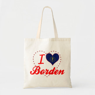I Love Borden, Indiana Bag
