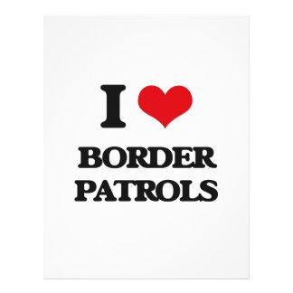 "I love Border Patrols 8.5"" X 11"" Flyer"