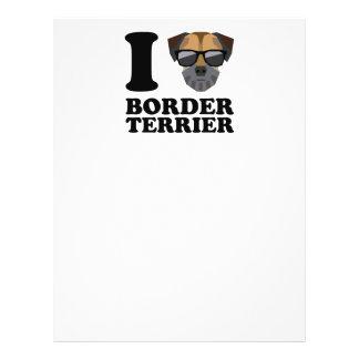 I Love Border Terrier -1- Flyer