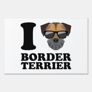 I Love Border Terrier -1- Sign