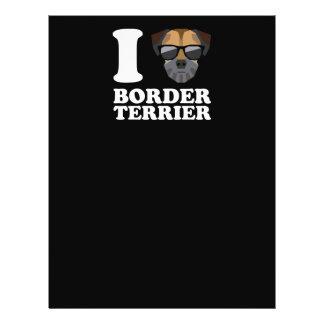 I Love Border Terrier -2- Flyer