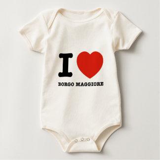 I Love Borgo Maggiore Baby Bodysuit
