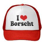 I Love Borscht Trucker Hat