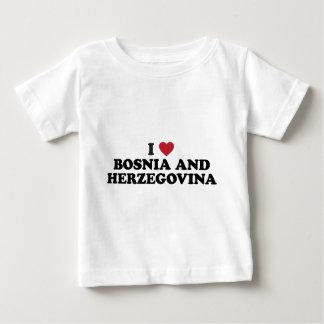 I Love Bosnia and Herzegovina Baby T-Shirt
