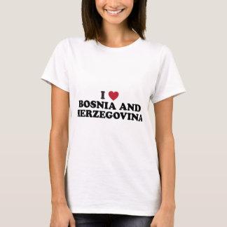 I Love Bosnia and Herzegovina T-Shirt