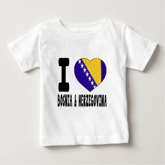 I Love Bosnia and Herzegovina Tshirts