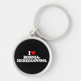 I LOVE BOSNIA-HERZEGOVINA KEY CHAIN