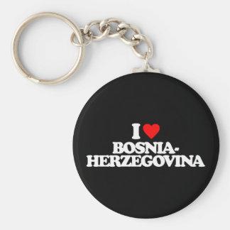 I LOVE BOSNIA-HERZEGOVINA KEY CHAINS
