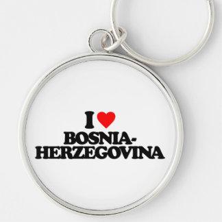 I LOVE BOSNIA-HERZEGOVINA KEYCHAIN
