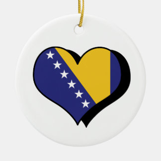 I Love Bosnia & Herzegovina Ornament
