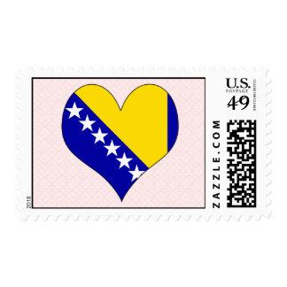 I Love Bosnia Herzegovina Postage
