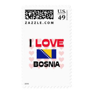 I Love Bosnia Stamps