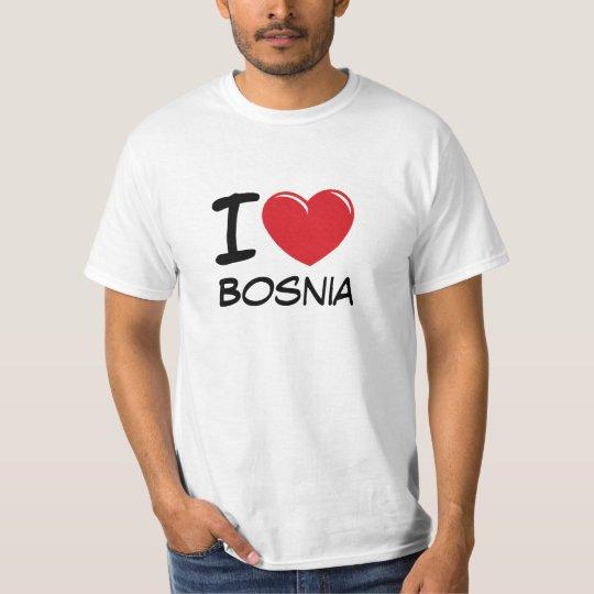 I Love Bosnia T-Shirt