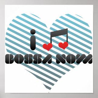 I Love Bossa Nova Poster