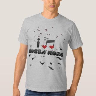 I Love Bossa Nova T-shirts