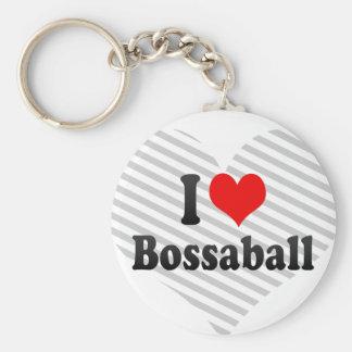 I love Bossaball Key Chain