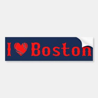 I Love Boston Bumper Sticker