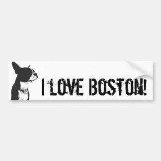 I love Boston! Bumper Stickers