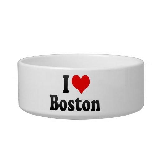 I love Boston Cat Bowls