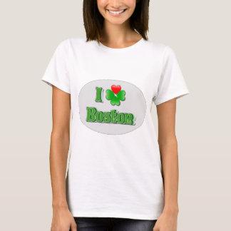 i Love Boston - Clover T-Shirt