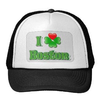I Love Boston - Clover Trucker Hat