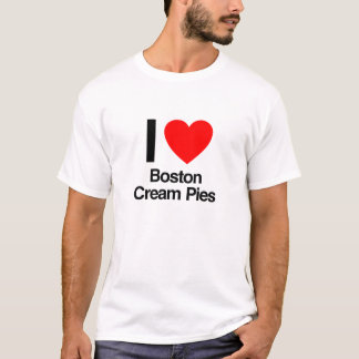 i love boston cream pies T-Shirt