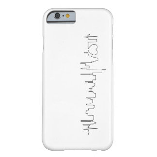 I love Boston in an extraordinary ecg style Barely There iPhone 6 Case