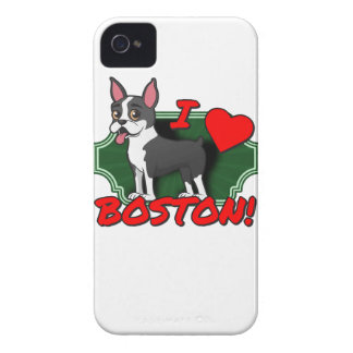 I Love Boston iPhone 4 Case-Mate Case