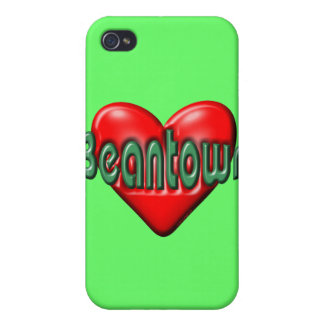 I Love Boston Case For iPhone 4