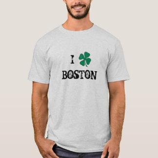 I Love Boston Irish T-Shirt
