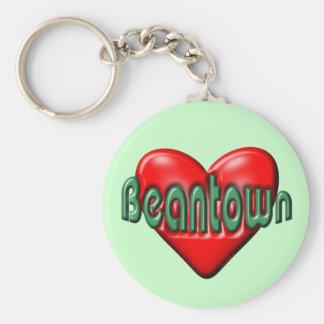 I Love Boston Key Chain