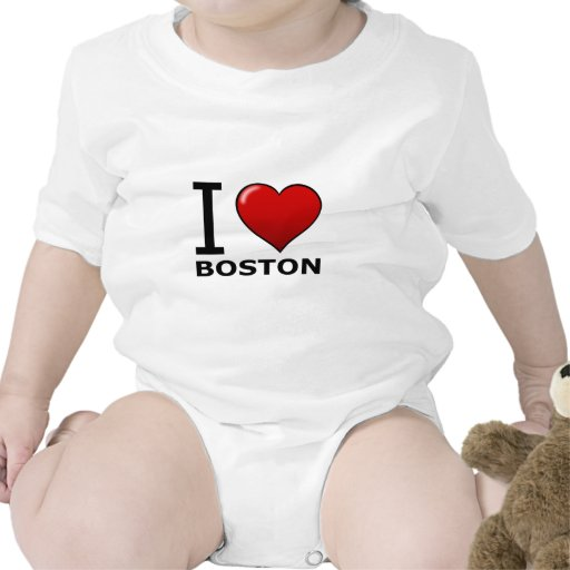I LOVE BOSTON,MA - MASSACHUSETTS T-SHIRTS
