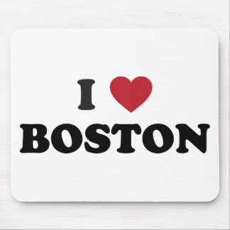 I Love Boston Massachusetts Mouse Pad