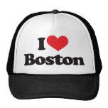 I Love Boston Mesh Hats