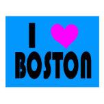 I Love Boston postcard