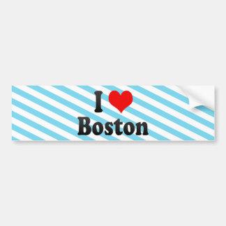 I Love Boston, United States Bumper Sticker