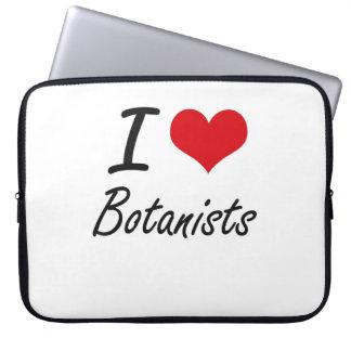 I love Botanists Laptop Computer Sleeve