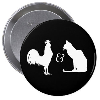 I love both - pinback button