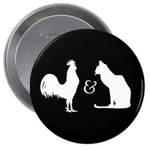 I love both - pinback buttons