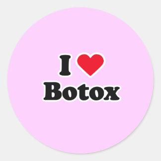 I love botox sticker