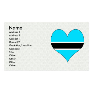 I Love Botswana Business Card