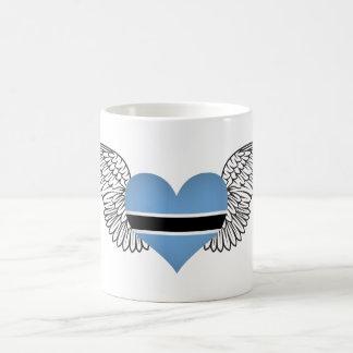 I Love Botswana -wings Coffee Mug