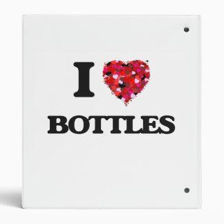 I Love Bottles Binder