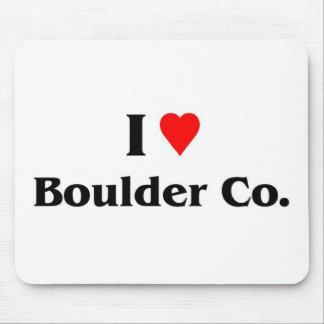 I love Boulder Colorado Mouse Pad