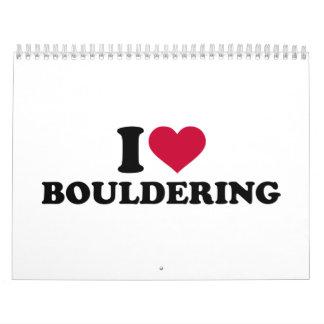 I love Bouldering Calendar