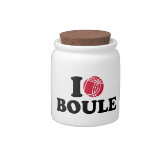 I love Boule Boccia Candy Dishes