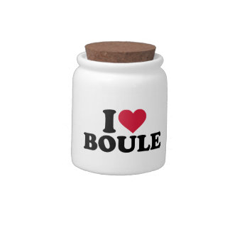 I love Boule Petanque Candy Dishes