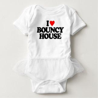 I LOVE BOUNCY HOUSE BABY BODYSUIT